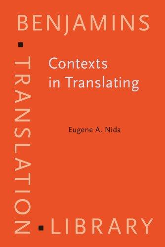 Contexts in Translating: Eugene Albert Nida
