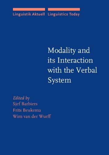 Modality and its Interaction with the Verbal: John Benjamins Publishing