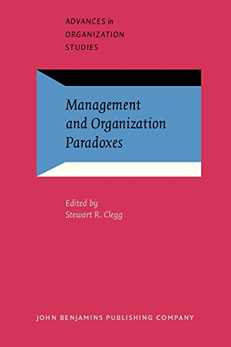 9781588112088: Management and Organization Paradoxes (Advances in Organization Studies)