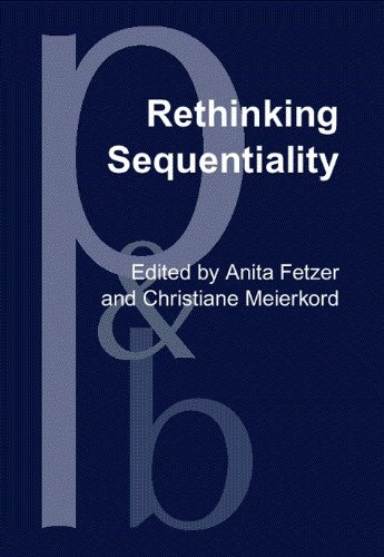 Rethinking Sequentiality: Linguistics meets conversational interaction (Pragmatics & Beyond New...