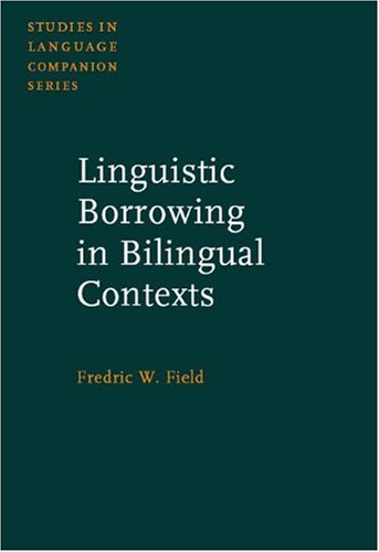 9781588112859: Linguistic Borrowing in Bilingual Contexts (Studies in Language Companion Series)