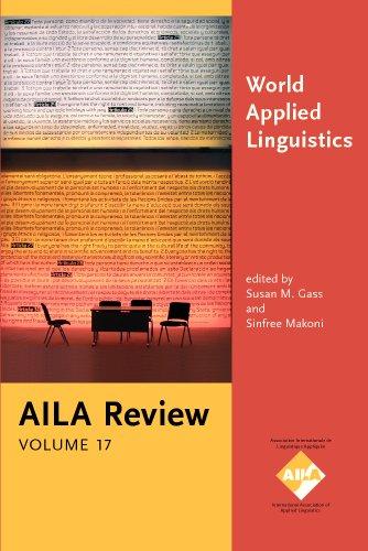 World Applied Linguistics: A Celebration of AILA: John Benjamins Publishing
