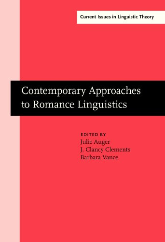 Contemporary Approaches to Romance Linguistics: Selected Papers from the 33rd Linguistic Symposium ...
