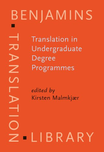 9781588116000: Translation in Undergraduate Degree Programmes (Benjamins Translation Library)