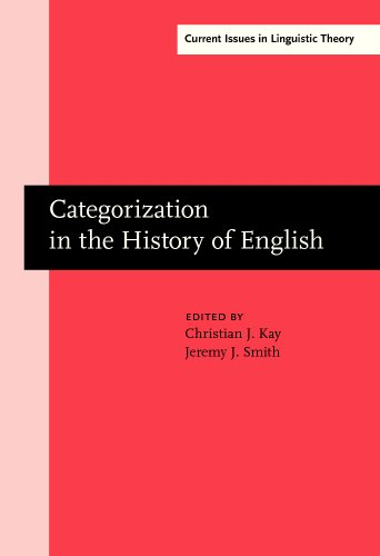 Categorization in the History of English (Current Issues in Linguistic Theory)
