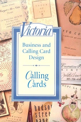 9781588160607: Calling Cards: Business and Calling Card Design