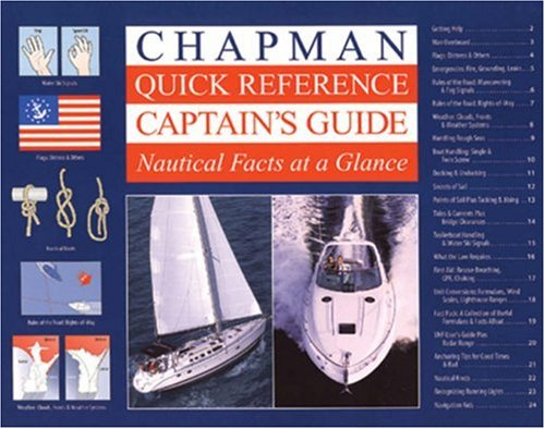 9781588162793: Chapman Quick Reference Captain's Guide: Nautical Facts at a Glance