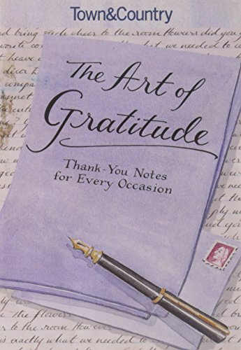 9781588167279: Town & Country The Art of Gratitude: Thank-You Notes for Every Occasion
