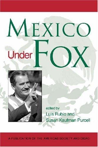 Mexico Under Fox (Americas Society & CIDAC Publications): Luis Rubio-Freidberg