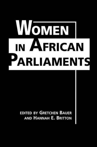 Women in African Parliaments (Hardback)