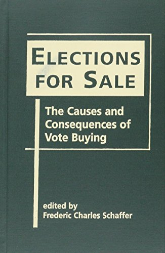 9781588264343: Elections for Sale: The Causes and Consequences of Vote Buying