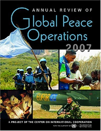 9781588265098: Annual Review of Global Peace Operations, 2007