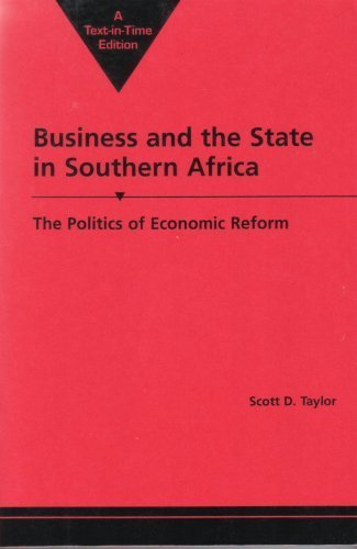 9781588265463: Business and the State in Southern Africa : The Politics of Economic Reform