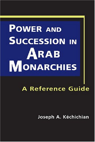 9781588265562: Power and Succession in Arab Monarchies: A Reference Guide