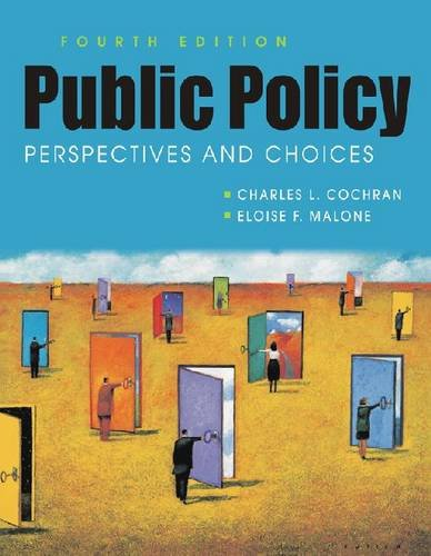9781588266743: Public Policy: Perspectives and Choices