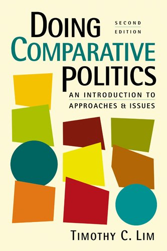 9781588267443: Doing Comparative Politics: An Introduction to Approaches and Issues