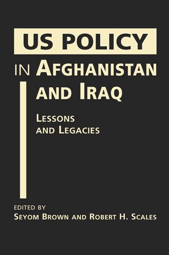 9781588268099: US Policy in Afghanistan and Iraq: Lessons and Legacies (Tower Center Political Studies)