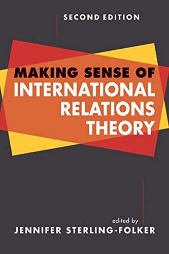 9781588268228: Making Sense of International Relations Theory