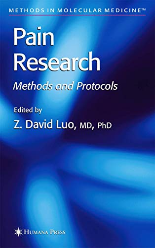9781588291035: Pain Research: Methods and Protocols (Methods in Molecular Medicine)