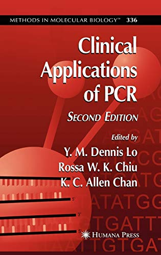 9781588293480: Clinical Applications of PCR (Methods in Molecular Biology)