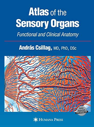 9781588294128: Atlas of the Sensory Organs: Functional and Clinical Anatomy