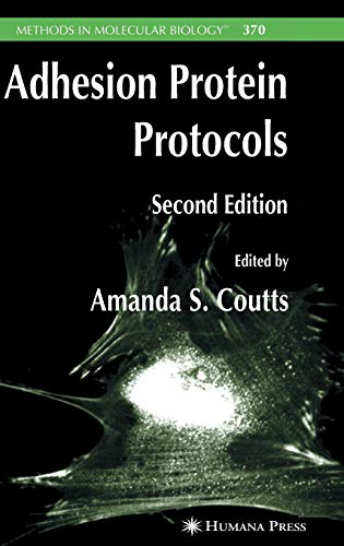 9781588295330: Adhesion Protein Protocols (Methods in Molecular Biology)