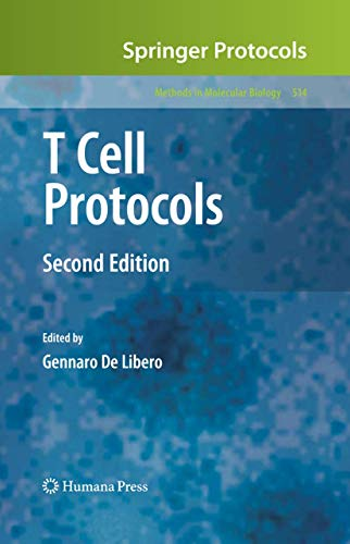 9781588295873: T Cell Protocols (Methods in Molecular Biology)