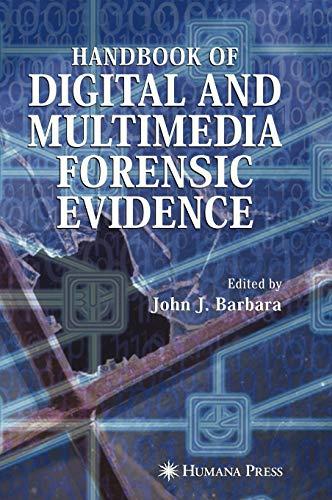 9781588297822: Handbook of Digital and Multimedia Forensic Evidence