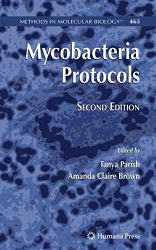 9781588298898: Mycobacteria Protocols