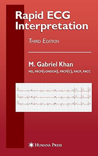 9781588299796: Rapid ECG Interpretation (Contemporary Cardiology)