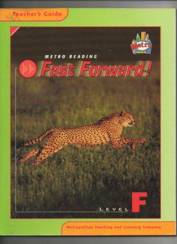 9781588307880: Metro Reading Fast Forward Level F. (Teacher's Guide)