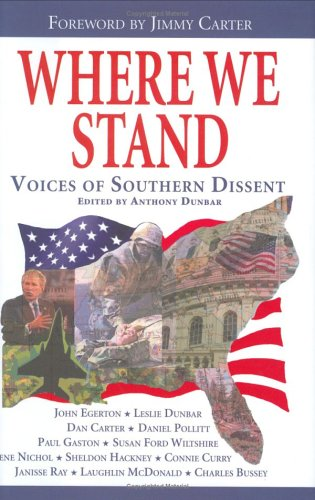 Where We Stand: Voices Of Southern Dissent: Charles Bussey; Dan