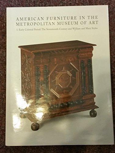 9781588392336: American Furniture In The Metropolitan Museum Of Art