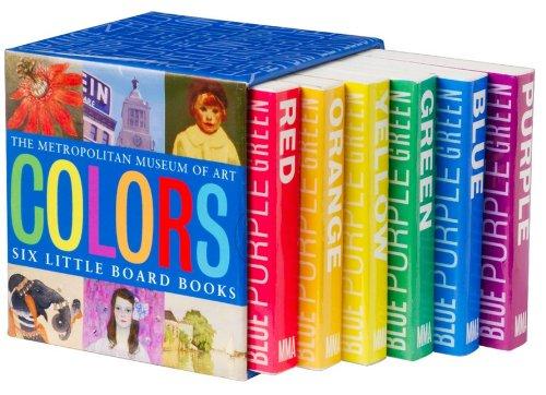 9781588393609: The Metropolitan Museum of Art COLORS Six Little Board Books Boxed Set