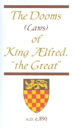9781588402240: The Dooms (Laws) of King Alfred,
