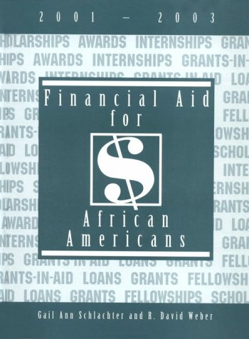 9781588410016: Financial Aid for African Americans, 2001-2003