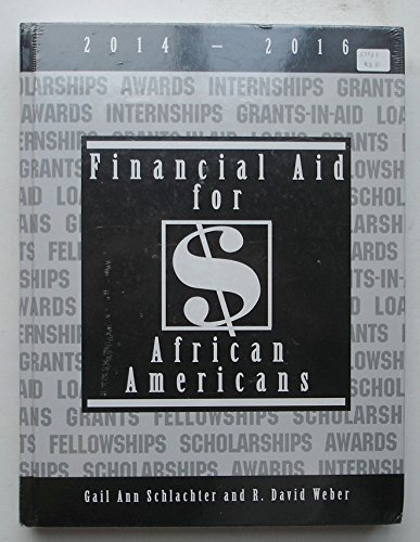 9781588412423: Financial Aid for African Americans 2014-2016