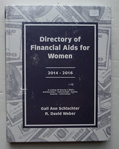 Directory of Financial AIDS for Women 2014-2016: Weber, R. David,