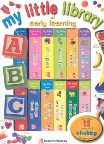 My Little Library of Early Learning (1588451860) by Carson-Dellosa Publishing