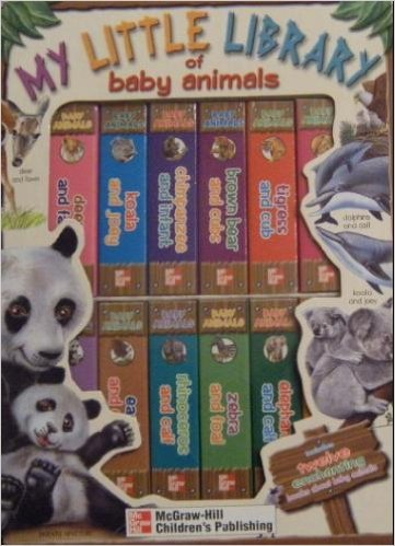 9781588451880: My Little Library of Baby Animals (My Little Library Board Books)