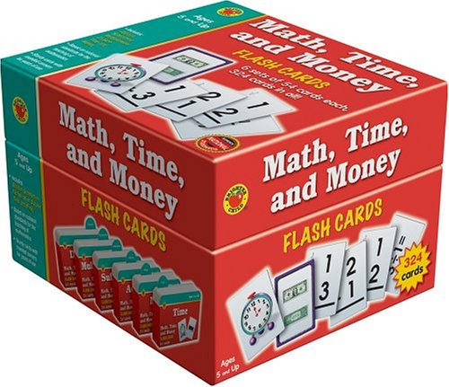 9781588455666: Math, Time, and Money Flash Cards (Brighter Child Boxed Sets)