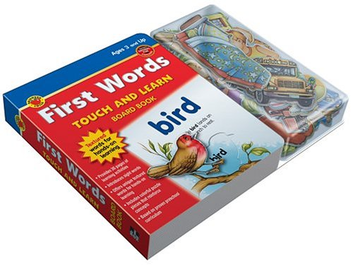 9781588455734: First Words Board Book (Touch and Learn Padded Board Books)