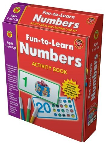 9781588455789: Fun-to-Learn Numbers (Brighter Child: Fun-To-Learn Activity Book and Learning Card Kits)