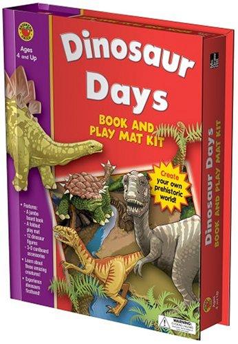 9781588456199: Dinosaur Days Book and Play Mat (Book & Play Mat Kits)