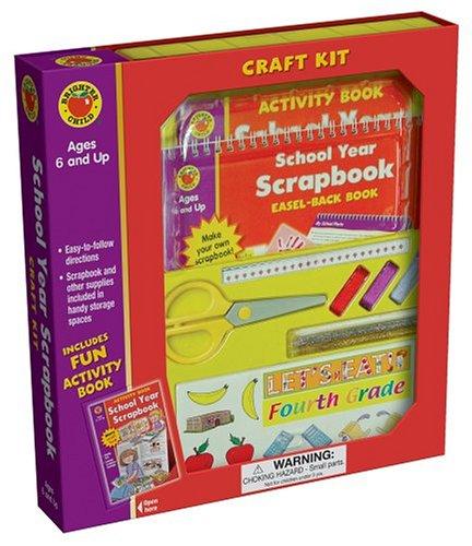 9781588456267: School Year Scrapbook Craft Kit