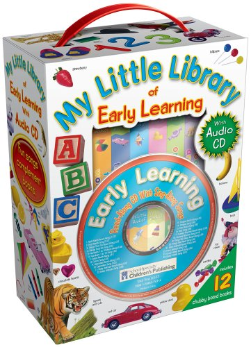 My Little Library of Early Learning with Audio CD: Carson-Dellosa Publishing