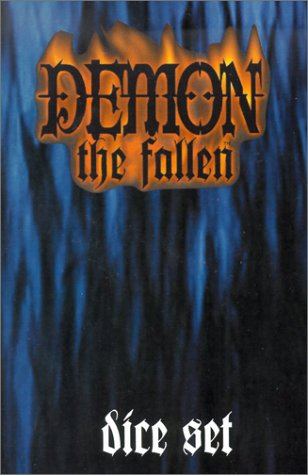 9781588460516: Demon the Fallen Dice Set with Dice and Other