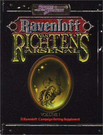9781588460790: 1: Van Richten's Arsenal (Ravenloft d20 3.0 Fantasy Roleplaying)