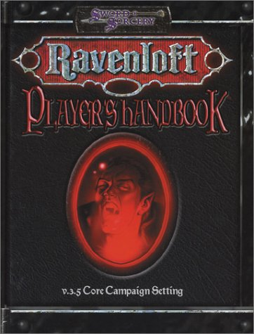 Ravenloft: Player's Handbook (v 3.5 Core Campaign Setting) (1588460916) by John Mangrum; Jackie Cassada; Andrew Cermak; Nicky Rea