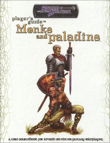 9781588460943: Players Guide to Monks and Paladins (D20 Generic System S.)